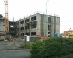 stavba FEI